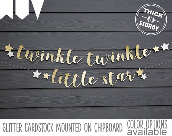 Twinkle Twinkle Little Star Baby Shower – inspiration photos