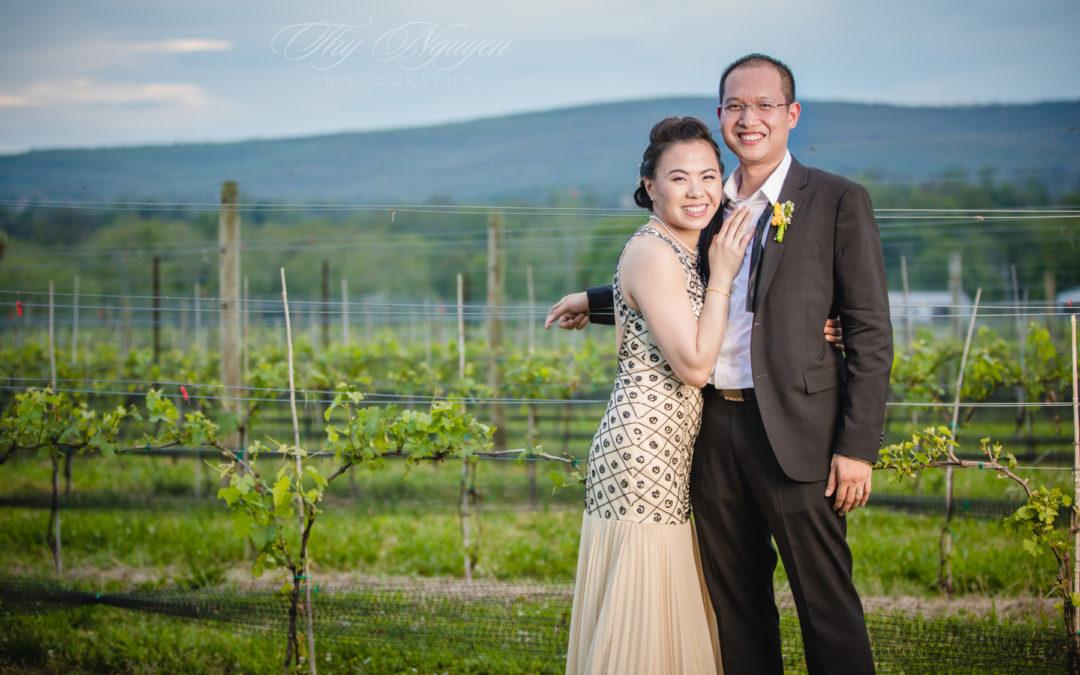 Anh & Hiep's Wedding at Kalero Vineyard