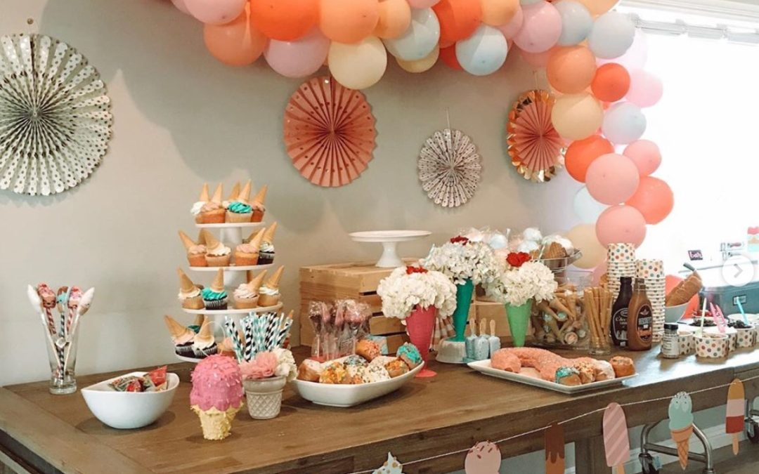 Ice Cream 1st Birthday Party Inspo