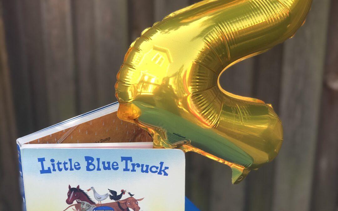Little Blue Truck 2nd Birthday